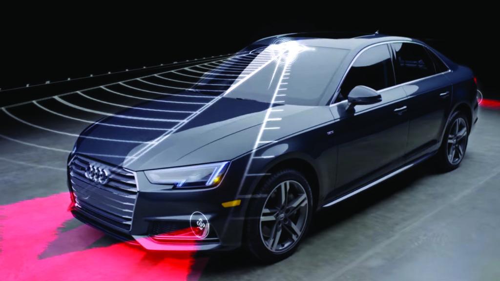 système avancés d'aide à la conduite Audi A4