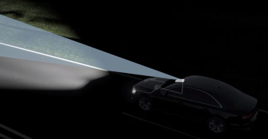 Night vision et éclairage adaptatif - système avancé d'aide à la conduite