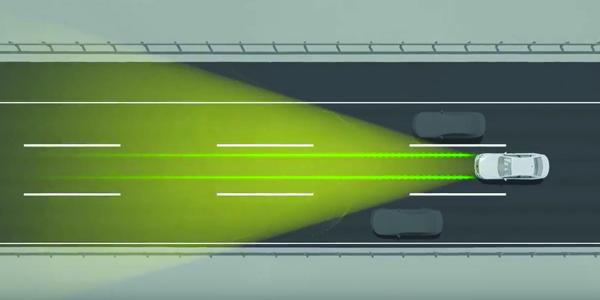 caméra pare-brise permettant l'assitance au suivi et au maintien de voie - ADAS