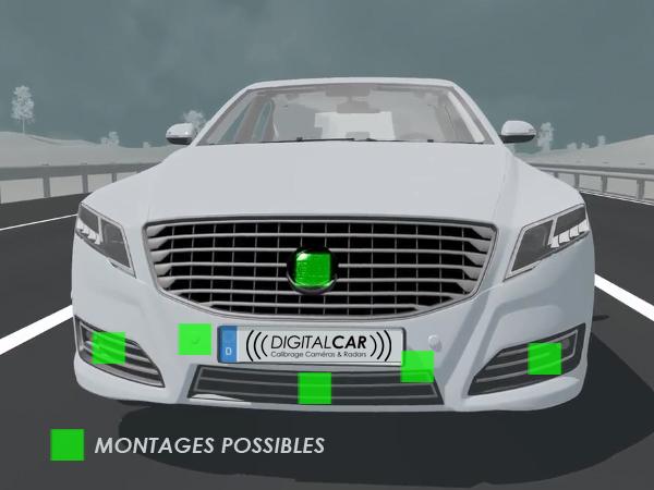Régulateur de vitesse adaptatif - Montages possibles