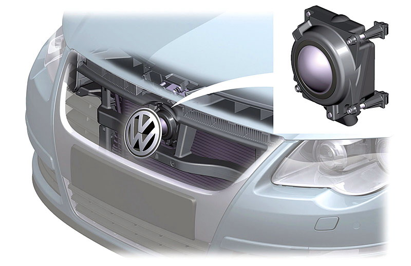 Radar pour régulateur de vitesse adaptatif