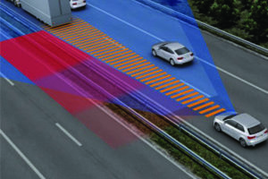 Radar de régulateur de vitesse adaptatif